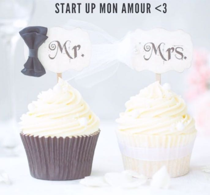 Il logo di Start Up Mon Amour
