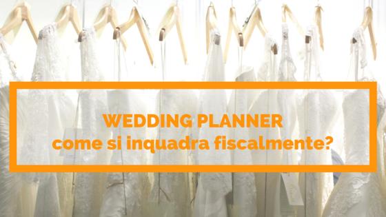 WEDDING PLANNER | aprire l'attività