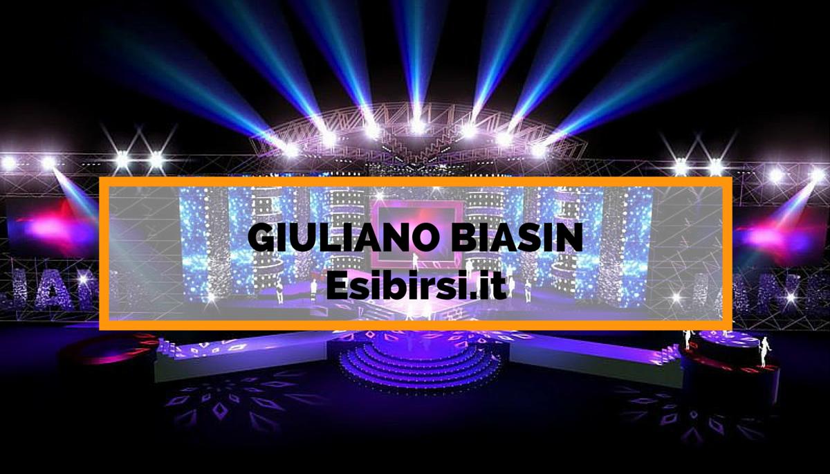 GIULIANO BIASIN presenta Esibirsi.it