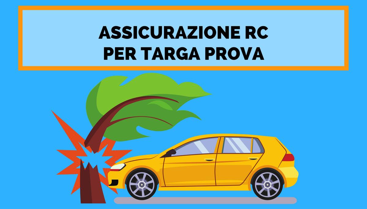 TARGA PROVA ASSICURAZIONE RC