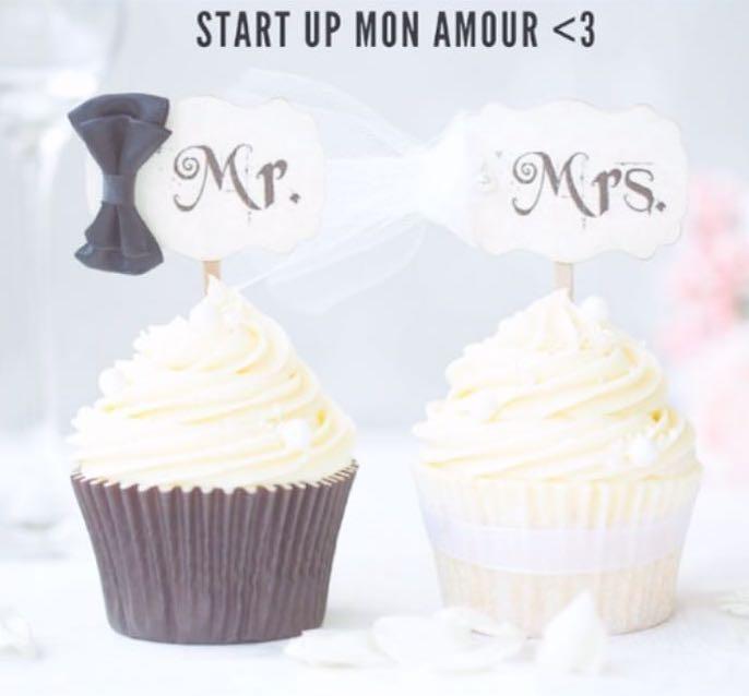Il logo di Start Up Mon Amour